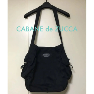 カバンドズッカ(CABANE de ZUCCa)のCABANE de ZUCCA ショルダーバッグ 黒(ショルダーバッグ)