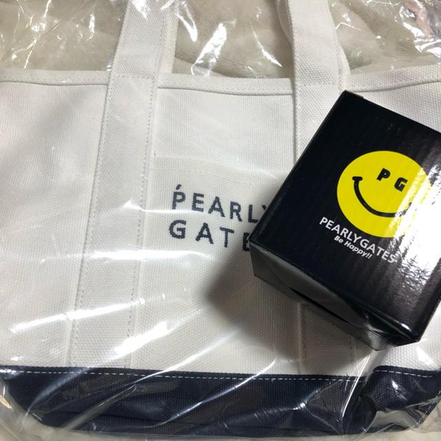 PEARLY GATES(パーリーゲイツ)の新品 パーリーゲイツ  カートバッグ キャンドル トートバッグ スポーツ/アウトドアのゴルフ(バッグ)の商品写真