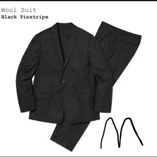 シュプリーム(Supreme)のSupreme Wool Suit Black M(セットアップ)
