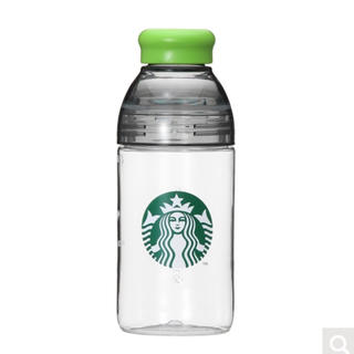 Starbucks Coffee - Starbucks シェイカーウォーターボトルグリーン&ブラック443ml