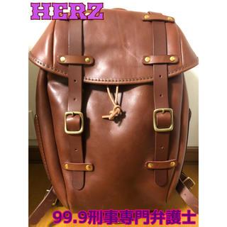 HERZ - HERZ 99.9刑事専門弁護士 リュック ブラウン 美品