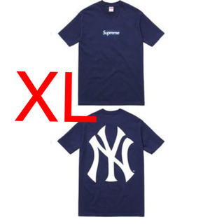 Supreme - supreme box logo tee newyork yankees