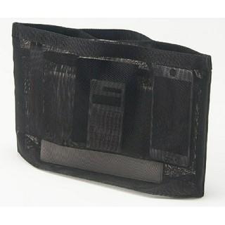 MUJI (無印良品) - 無印良品ナイロンメッシュバッグインバッグA4サイズ用・黒