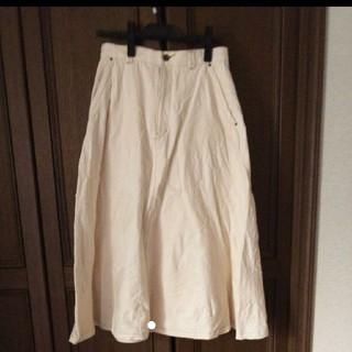 アトリエドゥサボン(l'atelier du savon)のアトリエドゥサボン デニムスカート(ひざ丈スカート)