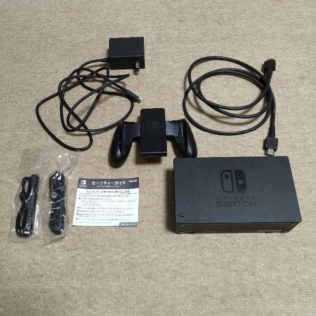 Nintendo Switch(ニンテンドースイッチ)の中古 旧型 Nintendo Switch スイッチ グレー エンタメ/ホビーのゲームソフト/ゲーム機本体(家庭用ゲーム機本体)の商品写真