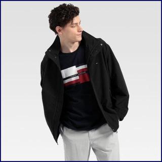 トミーヒルフィガー(TOMMY HILFIGER)のセーリングジャケット ブラック Mサイズ TOMMY HILFIGER(ブルゾン)