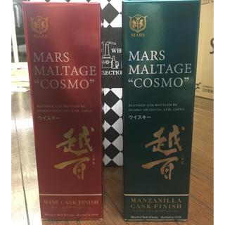 マース(MARS)のマルス 越百 二本セット ワインカスク マンサニージャ(ウイスキー)