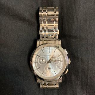 バーバリー(BURBERRY)のBURBERRY バーバリー 腕時計 シルバー(腕時計(アナログ))