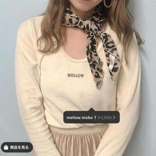 ジーユー(GU)の❤︎ mellow moko t ❤︎(Tシャツ/カットソー(七分/長袖))