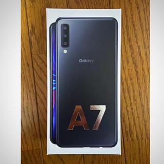 Galaxy - 【未開封】Galaxy A7 ブラック 64 GB SIMフリー