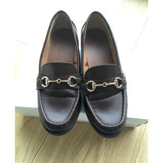 ジーユー(GU)のGU ビットつきローファー(ローファー/革靴)