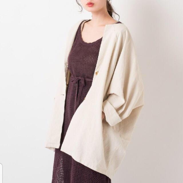 Kastane(カスタネ)のkastane ドルマンbigジャケット レディースのジャケット/アウター(ノーカラージャケット)の商品写真