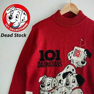 ディズニー(Disney)の859 希少 未使用 タグ付き ヴィンテージ 101匹ワンちゃん セーター(ニット/セーター)