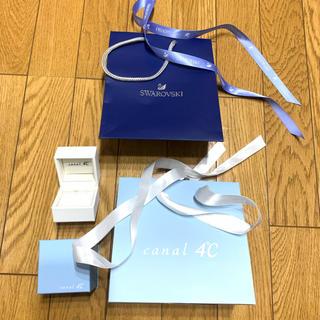 カナルヨンドシー(canal4℃)のショプ袋×箱(ショップ袋)