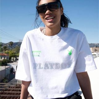 ジョイリッチ(JOYRICH)のjoyrich × playboy コラボ Tシャツ ホワイト(Tシャツ(半袖/袖なし))