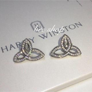 HARRY WINSTON - ⭐️最高品質⭐️芸能人✨海外セレブ✨リリーピアス✨至高の輝き✨