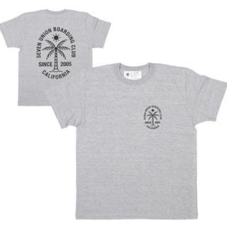 シュプリーム(Supreme)の【新品】今期 7union セブンユニオン Tシャツ ティーシャツ グレー (Tシャツ(半袖/袖なし))