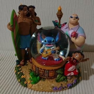 ディズニー(Disney)のスティッチ★スノーグローブ(置物)