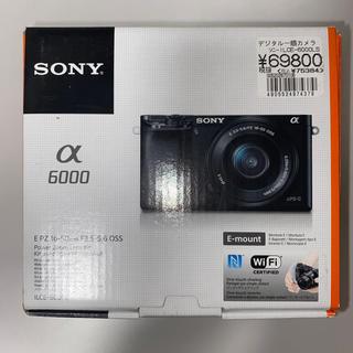 ソニー(SONY)のソニーILCE-6000LSデジタル一眼カメラ(デジタル一眼)