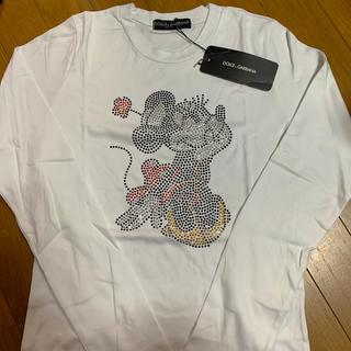 ドルチェアンドガッバーナ(DOLCE&GABBANA)のドルガバ ミニー Tシャツ ロンティー(Tシャツ(長袖/七分))