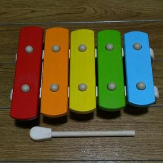 赤ちゃん 木琴 おもちゃ  数回使用のみ 美品
