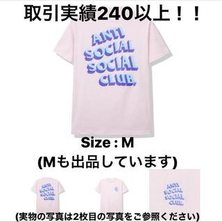 ステューシー(STUSSY)の新品 ASSC Popcorn Pink Tee Mサイズ (Tシャツ(半袖/袖なし))
