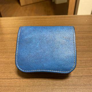 ワイルドスワンズ ラクダ革パーム(折り財布)