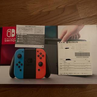 ニンテンドースイッチ(Nintendo Switch)のNintendo Switch スイッチ 中古美品 旧型 HAC-S-KABA(家庭用ゲーム機本体)