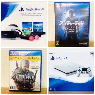 PlayStation4 - 美品PlayStation4 + PSVRエキサイティングパック+ ソフト4枚