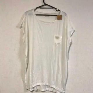 チャオパニック(Ciaopanic)の新品タグ付き☆チャオパニック☆ポケット付きシンプルロングTシャツ(Tシャツ(半袖/袖なし))