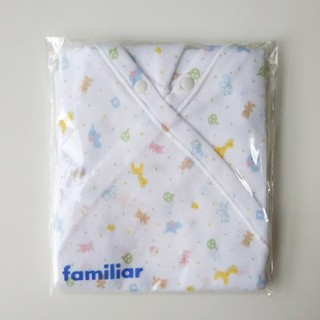 familiar - 【新品】ファミリア カバーオール型肌着 出産準備