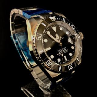 新品未使用 ダイバーズウォッチ セラミックベゼル グライドロック 送料無料(腕時計(アナログ))