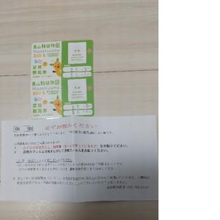 名古屋 東山動植物園 年間パスポート 定期観覧券 大人2枚(動物園)