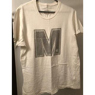 エム(M)の美品 スワロフスキー エム ブランドM TMT wjk MW 半袖 Tシャツ(Tシャツ/カットソー(半袖/袖なし))