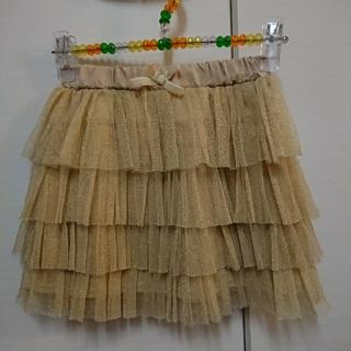 グローバルワーク(GLOBAL WORK)のグローバルワーク キッズ チュール ティアード フリル スカート XL 120(スカート)