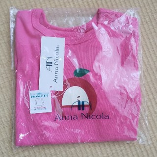 アンナニコラ(Anna Nicola)のアンナニコラ 長袖シャツ(Tシャツ/カットソー)