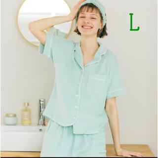 ジーユー(GU)の【Lサイズ】GU×サボン パイルパジャマ ミント(パジャマ)