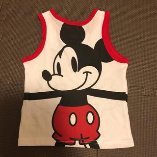 ディズニー(Disney)のディズニー ミッキー  タンクトップ(Tシャツ/カットソー)