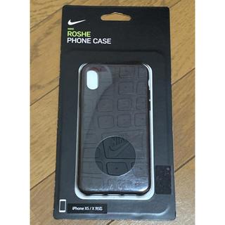 ナイキ(NIKE)のナイキ iPhone ケース NIKE ブラック iPhonex(iPhoneケース)