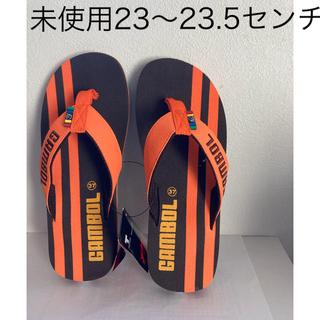 ハワイアナス(havaianas)のビーチサンダル 新品23〜23.5センチ(ビーチサンダル)