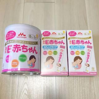 森永乳業 - E赤ちゃん 大缶 800g スティックタイプ 100ml 20本