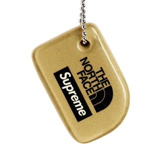 シュプリーム(Supreme)のSupreme NorthFaceFloating Keychainステッカー付(キーホルダー)