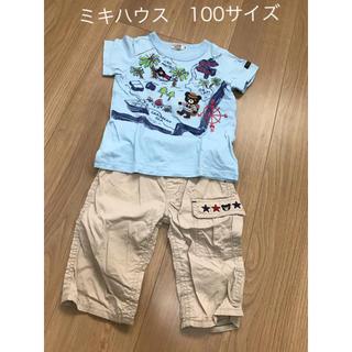 mikihouse - ミキハウス 男の子 100サイズ 半袖Tシャツ ハーフパンツ