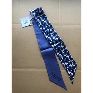 コーチ(COACH)のコーチのスカーフ ブルー(バンダナ/スカーフ)