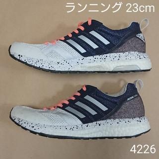 アディダス(adidas)のランニングS 23cm アディダス adizero tempo BOOST W (シューズ)