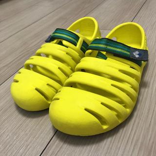 mont bell - モンベル キッズ キャニオンサンダル 20 黄色