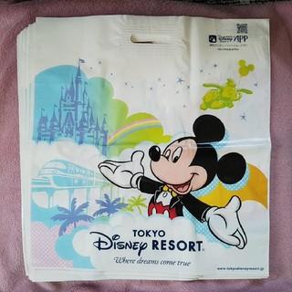 ディズニー(Disney)のディズニー ミッキー ミニー ショップ袋 特大サイズ 10枚(ショップ袋)