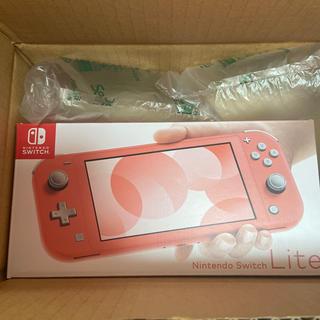 Nintendo Switch - 任天堂 Switch Lite スイッチライト コーラル 新品