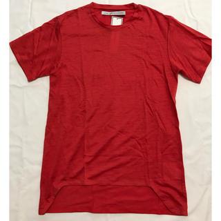 ジョンローレンスサリバン(JOHN LAWRENCE SULLIVAN)のテールカット リネン 半袖Tシャツ John Lawrence Sullivan(Tシャツ/カットソー(半袖/袖なし))