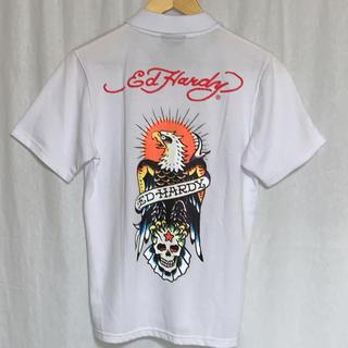 エドハーディー(Ed Hardy)のエドハーディ 半袖プリントポロ ユニセックス (ポロシャツ)